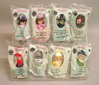 2007 McDONALDS HAPPY MEAL DOLLS COMPLETE SET Wizard of Oz Madame Alexander FREE UPGRADE TO PRIORITY MAIL SHIPPING