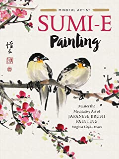 Sumi-e Painting: Mindful Artist: 1