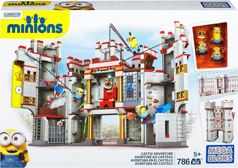 Mega Construx Despicable Me Castle Adventure Building Set