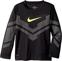 Nike Kids - As If Reflective Mesh Dri-FIT Tee (Little Kids)