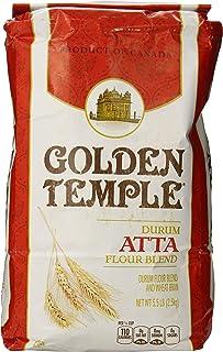 Golden Temple Durum Whole Wheat Atta Flour, 5.5 Pound
