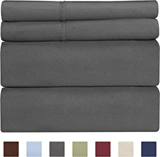 CGK Unlimited Cotton Sheets - Queen Size Bed Sheets - 400...