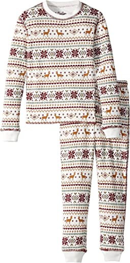 P.J. Salvage Kids - Fair Isle Jammie Set (Toddler/Little Kids/Big Kids)
