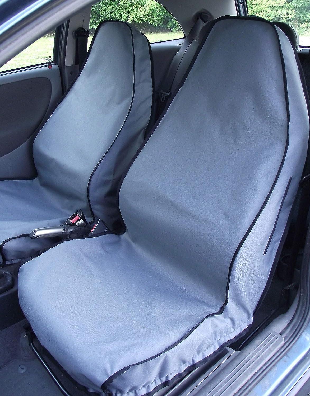 to fit Kia Rio 2001 Onwards Titan Waterproof Car Front Seat Covers Black