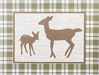 Trend Lab Deer Lodge Canvas Wall Art, Brown/Tan/Green