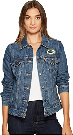 Packers Sport Denim Trucker