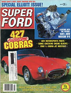 Super Ford Magazine March 1988 SPECIAL ELLIOTT ISSUE: INSIDE ERNIE'S SHOP, SHORT TRACKING WITH BILL