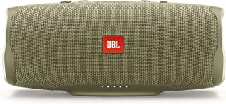 JBL Charge 4 Portable Bluetooth Speaker and Power Bank with Rechargeable Battery for More Devices – Waterproof – Sand