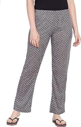 STAUNCH Night Pyjamas for Women, Night Dress, Lounge Wear, Multi Color Printed Pyjama,–Soft Cotton Night Wear