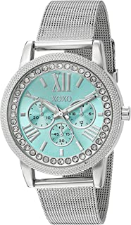 XOXO Womens Quartz Watch, Analog Display and Stainless Stell Strap - XO5899