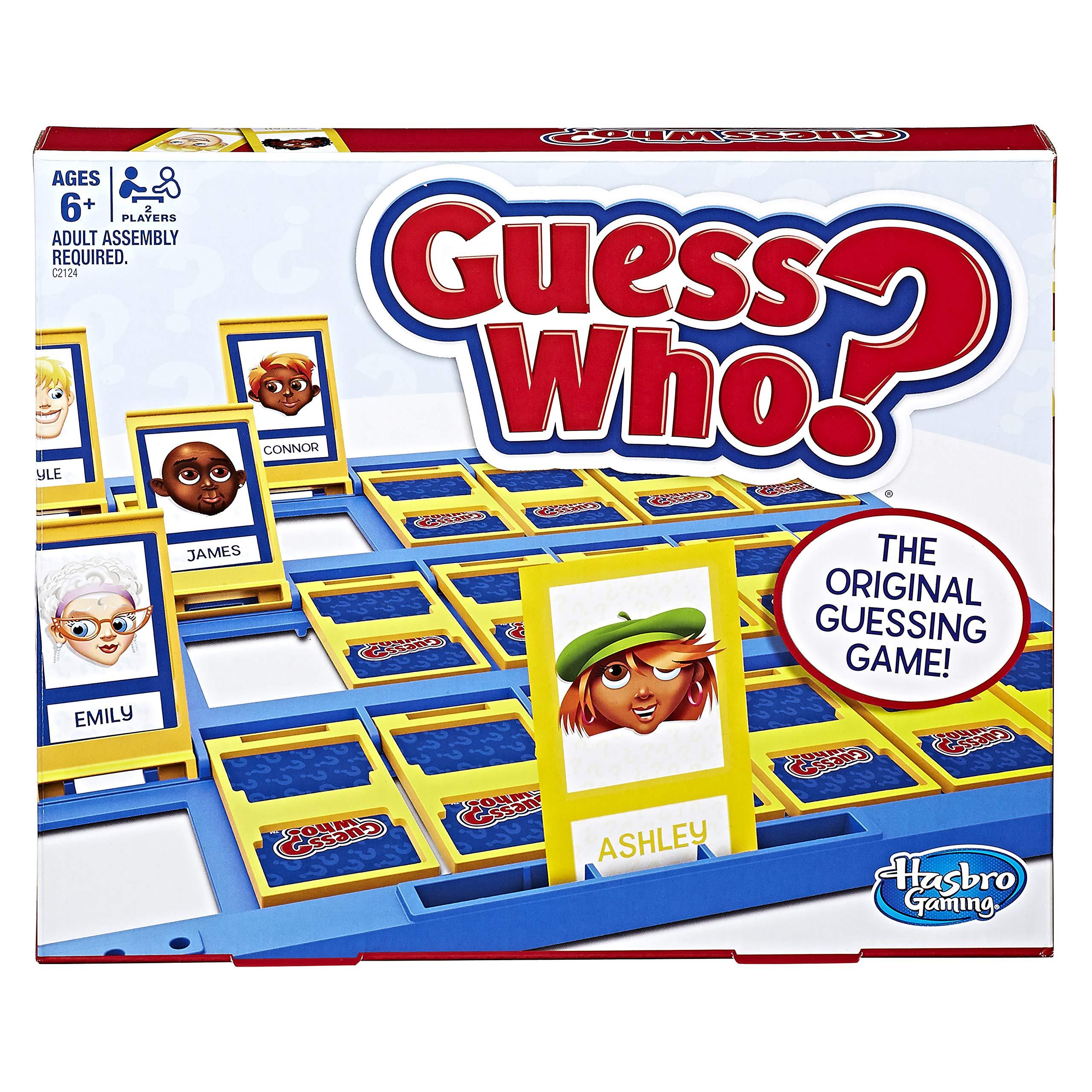 Hasbro Guess Who? Clásico Juego: Amazon.es: Juguetes y juegos