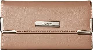 Vesper SLG Around The Clock Check Checkbook Wallets Latte One Size