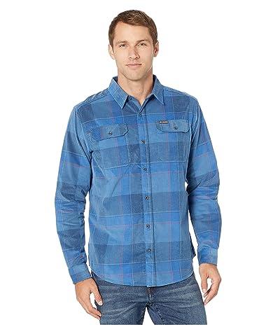 Columbia Flare Guntm Corduroy Shirt (Scout Blue Large Check) Men