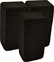 Grill Griddle Cleaning Brick Block, Pack of 3 - Pumice Cleaner Stone tool For Grates, Flat top Cookers and Stoves
