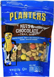 Planters Nuts and Chocolate Trail Mix (12 Bags), 6 oz, Assorted
