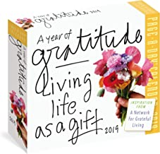 A Year of Gratitude Page-A-Day Calendar 2019: Living Life as a Gift