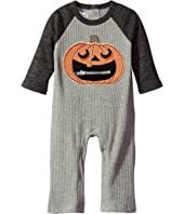 Mud Pie - Halloween Pumpkin One-Piece (Infant)