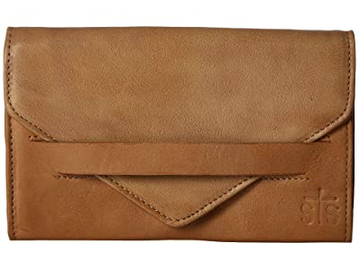 STS Ranchwear Silo Wallet (Camel) Handbags