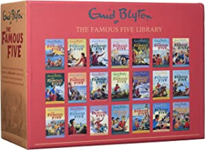 Enid Blyton Famous Five Series 21 Books Collection Box Gift Set Pack (1 To 21)