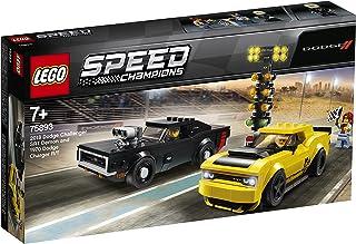 لعبة سيارة سباق ابطال السرعة ومتحدي العقبات من ليغو، متعددة الالوان، 75893