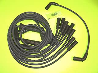 BB Spark Plug Wire Set for Mercruiser and Volvo Penta with Flat Cap distributors
