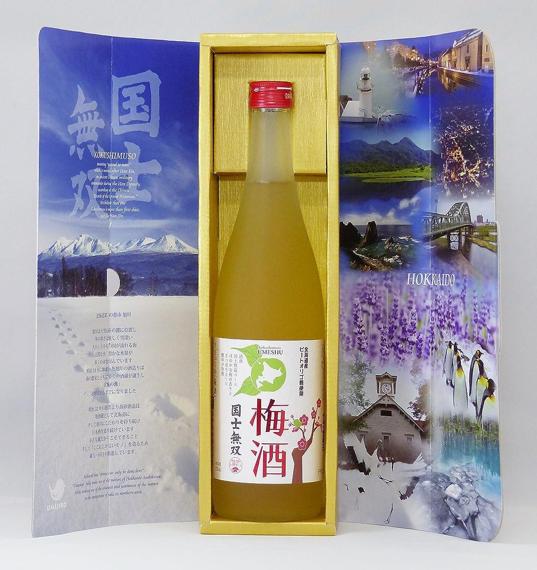 レインコート凍るコークス高砂酒造 国士無双 梅酒 カートン入 720ml