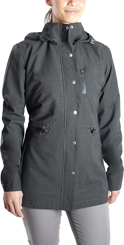Woolly Clothing Women's NatureDry Active Trench Jacket - 100% Merino Wool