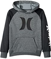 Hurley Kids - Dri-Fit Solare Icon Pullover (Little Kids)