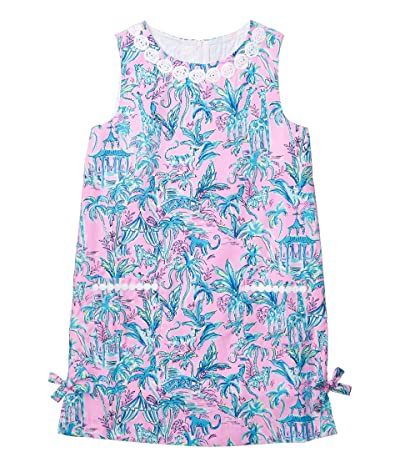 Lilly Pulitzer Kids Little Lilly Classic Shift Dress (Toddler/Little Kids/Big Kids) (Lilac Rose Out of Office) Girl