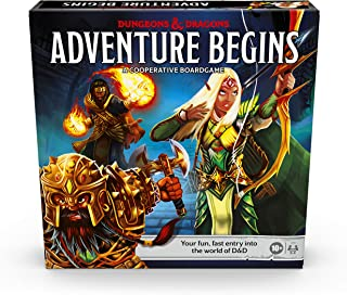 Dungeons & Dragons Adventure Begins, Cooperative Fantasy Board Game, Fast Entry to the World of D&D, Family Game for 2-4 P...