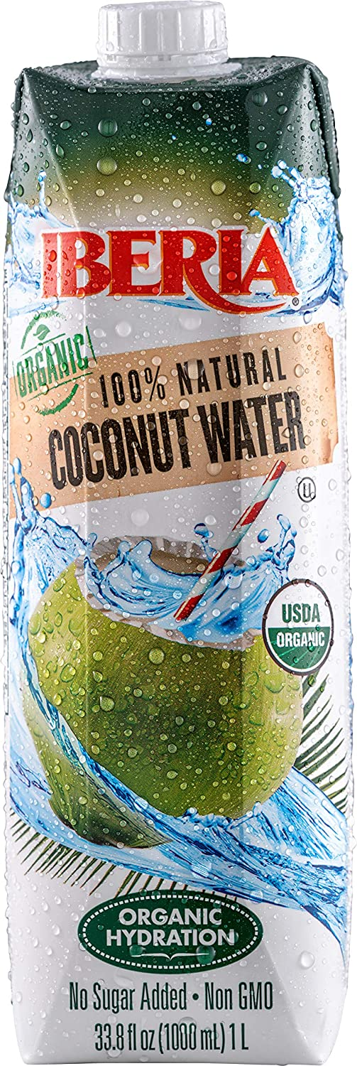 Iberia Organic Coconut Water 1 Pack USDA Chicago Mall of 12 Liter Opening large release sale