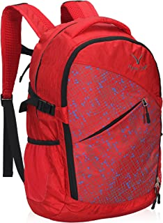 Hynes Eagle Urban Commuter Backpack Lightweight Outdoor Backpack Woman Backpack 25L Red