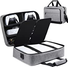 Ztotop for PS5 Travel Case, Compatible with Playstation 5 Console and PS5 Disk/Digital Edition, Carrying Case for Playstat...