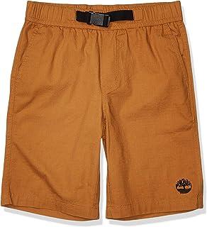 Timberland Boys` Buckle Closure Knit Shorts