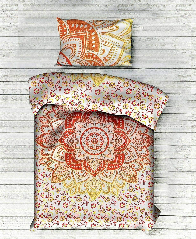 Ranking TOP17 THE ART BOX Boho Duvet Mandala Bohemian Rapid rise Cover Comforte Bedding