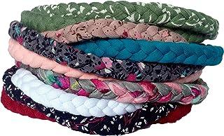 10 Pack Baby Girl Braided Headbands For Newborn, Infant & Toddler