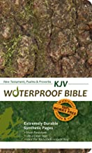 Waterproof Durable New Testament with Psalms and Proverbs-KJV-Camouflage