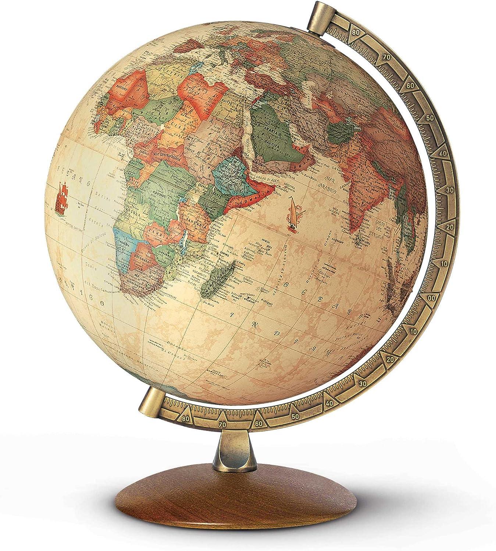 Gamesson Nova Easy-to-use Rico Antiquus Illuminated 30 cm - Trust Globe