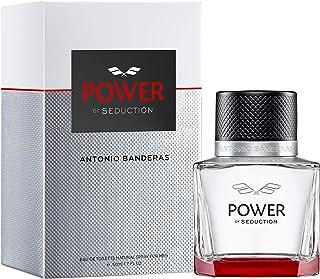 Antonio Banderas Perfumes - Power of Seduction - Eau de Toilette Spray for Men - Fruity, Soft and Daring Fragrance - 3.4 Fl Oz