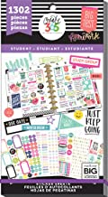 happy planner student icons sticker book