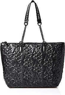 Armani Exchange Shopping Bag for Women- Black