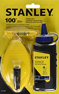 Stanley 47-443 3 Piece Chalk Box Set – 4-Ounce bottle Blue Stanley Chalk &..