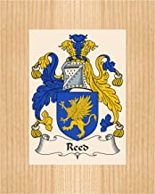Carpe Diem Designs Reed Coat of Arms/Reed Family Crest 8X10 Photo Plaque, Personalized Gift, Wedding Gift