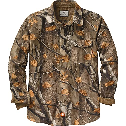 Legendary Whitetails Mens Buck Camp Flannel Shirt