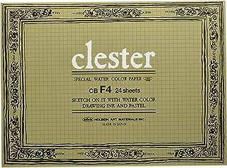 ホルベイン クレスター水彩紙 ブロック 中紙210g(並厚口) 中目 24枚とじ 270-252 CB-F4