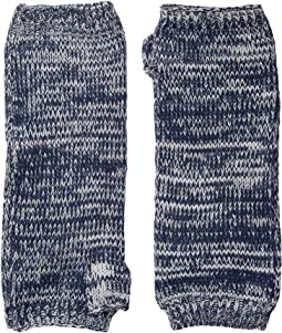 KNG3541 Fingerless Marl Longer Gloves