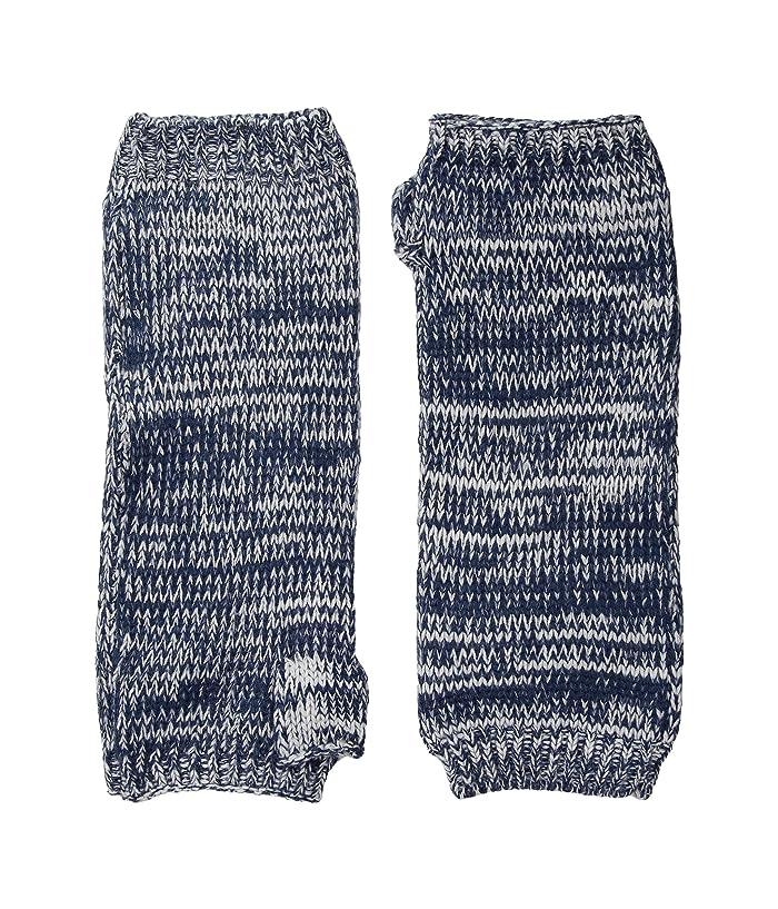 San Diego Hat Company KNG3541 Fingerless Marl Longer Gloves (Blue) Dress Gloves