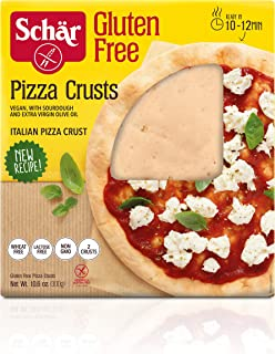 Schär Gluten Free Pizza Crust, 2-Count, 2-Pack Packaging may Vary