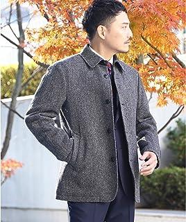 (タケオキクチ) TAKEO KIKUCHI ツイードブルゾンFabric by MOON [ メンズ アウター ブルゾン ベーシック キルティング ショート丈 ] 07055060