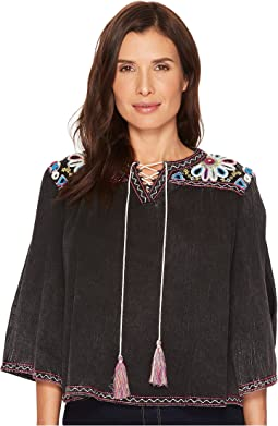 Double D Ranchwear Rhythm & Blues Top
